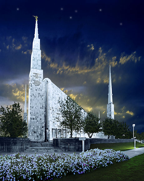 Boise L.D.S. Temple in Idaho