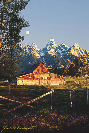 Dawn's Hope, Teton Peaks, Teton National Park