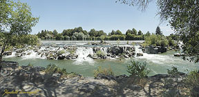 Our Beautiful Falls - falls at Idaho Falls, Idaho