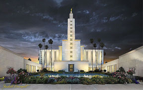 L.A. Los Angeles lds Temple Oregon
