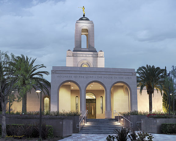 Newport Beach L.D.S. Temple in California