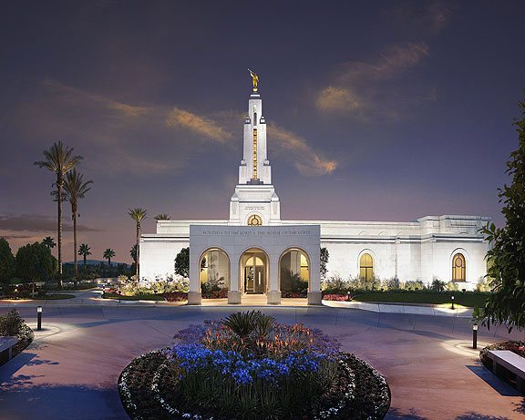 Redlands L.D.S. Temple in California
