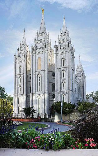 Salt Lake Lds Temple Pictures Painting